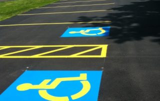 Handicap Marking and Line Striping