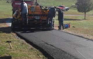 Paving Professionals Performing Our Asphalt Paving Services