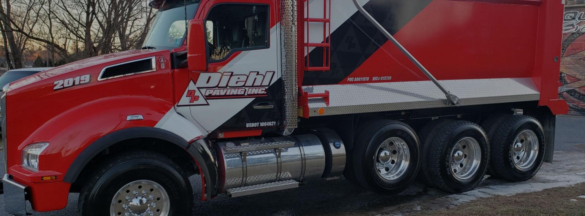 Diehl Paving Inc Truck