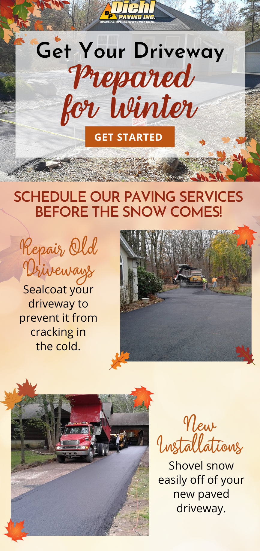 November Email - Prepare Your Driveway For Winter! ❄ 1